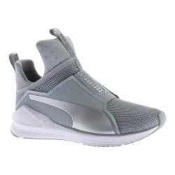 Women's PUMA Fierce Core Cross Training Shoe Quarry/PUMA White/PUMA Silver (5 options available)