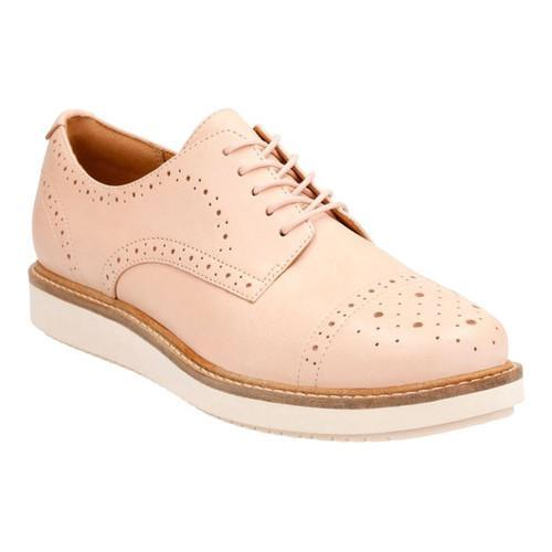 Shop Women s Clarks Glick Shine Oxford Nude Cow Full Grain Leather - Free  Shipping Today - Overstock - 14236992 61596216a45
