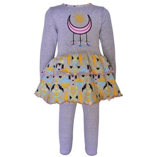 AnnLoren Girls Boutique Dream Catcher Tunic & Leggings