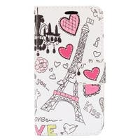 Insten Colorful Hearts Leather Case Cover with Stand/ Wallet Flap Pouch/ Photo Display For LG G5