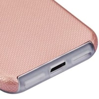 Insten Rose Gold Hard Snap-on Dual Layer Hybrid Case Cover For Apple iPhone 7