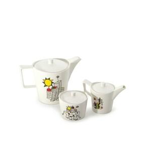 Eclipse Porcelain Codriez 6pc Coffee/Tea Serving Set