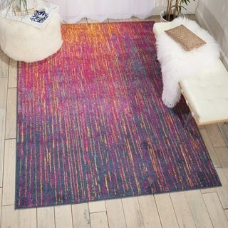 Nourison Passion Multicolor Area Rug (6'7 X9'6)
