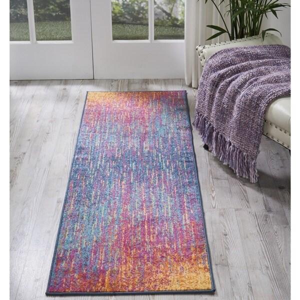 Nourison Passion Multicolor Runner Rug (1'10 X6')