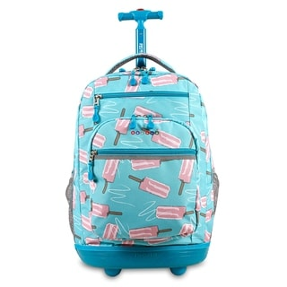 J World New York Sundance Ice Pop Rolling 15-inch Laptop Backpack