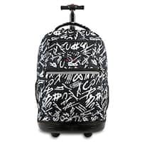 J World New York Sundance Script Rolling 15-inch Laptop Backpack