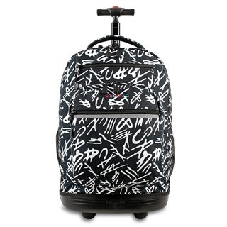 J World New York Sundance Script Rolling 15-inch Laptop Backpack