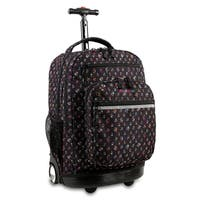 J World New York Sundance Origami Rolling 15-inch Laptop Backpack