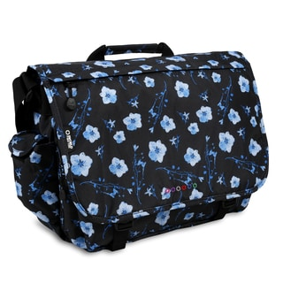 J World New York Thomas Night Bloom 15-inch Laptop Messenger Bag
