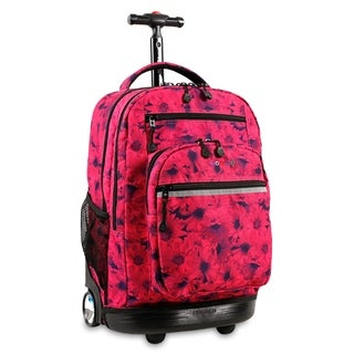 J World New York Sundance Bellis Rolling 15-inch Laptop Backpack