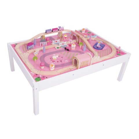 Bigjigs Wooden Magical Train Set and Table