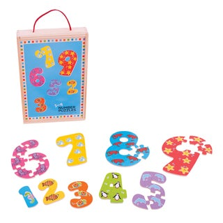 Bigjigs Toys 1-9 Number Puzzle