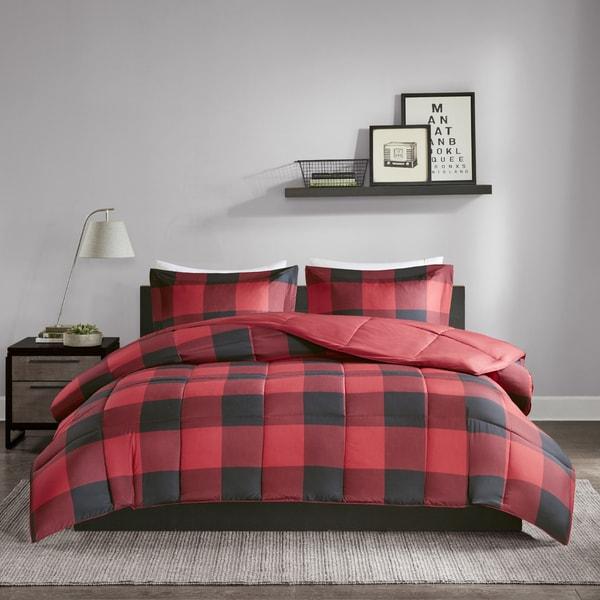 Madison Park Essentials Brooks 3M Scotchgard Down Alternative Comforter Mini Set - 2 Color Options