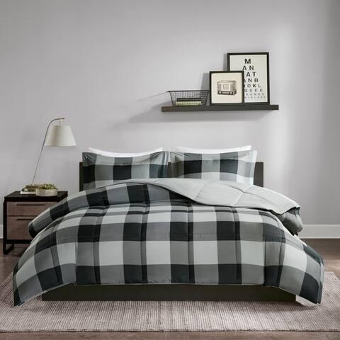 Madison Park Essentials Brooks 3M Scotchgard Down Alternative Light Weight Comforter 3-Piece Set (2-Color Option)