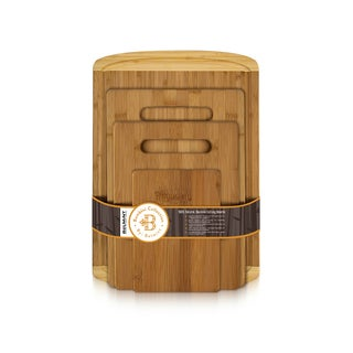 Bamboo 4 Piece Cutting Board Set