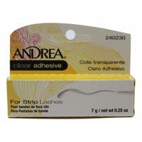 Andrea Strip Lash 0.25-ounce Adhesive Clear