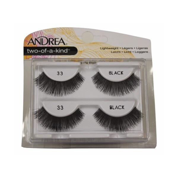 620d2d7d986 Shop Andrea Twin Pack Two of A Kind Lashes 33 - Free Shipping On ...