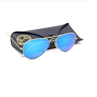 Ray-Ban RB3025 Unisex Aviator Sunglasses Mirrored