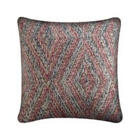 Mercana Nicand Red 18-inch Throw Pillow