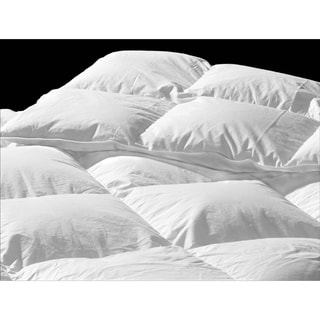 Highland Feather Manufacturing Mulhouse European White Down Duvet, Standard Fill