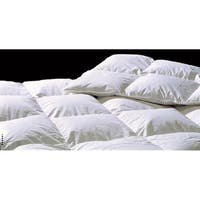 Highland Feather Dijon European White Down Duvet, STANDARD FILL
