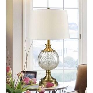 "Springdale 25.5""H Mitre Crystal Table Lamp"
