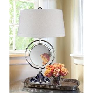 """Dale Tiffany 25""""H Contessa Mirror Table Lamp"""
