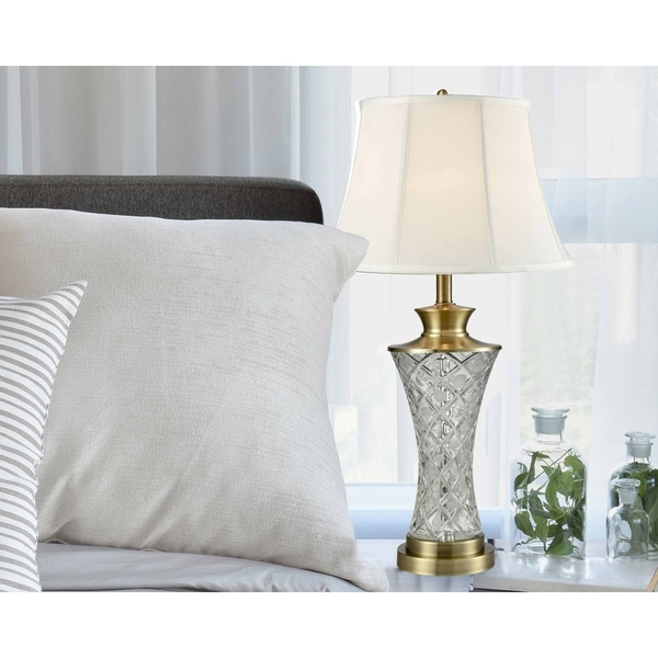 "Springdale 30""H Collingwood Crystal Table Lamp"