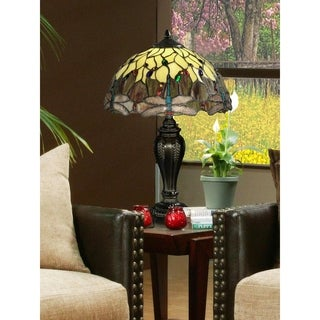 """Dale Tiffany Select 22""""H Corrall Table Lamp"""