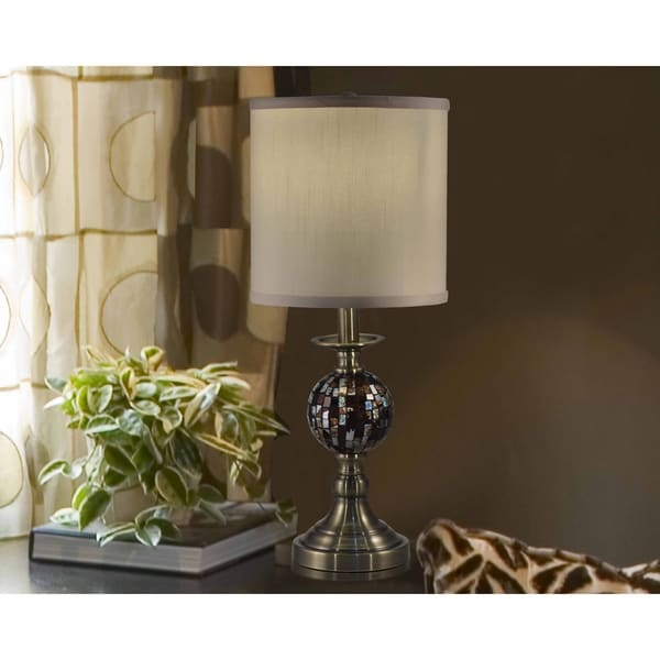 "Springdale 21.25""H Dunford Mosaic Table Lamp"