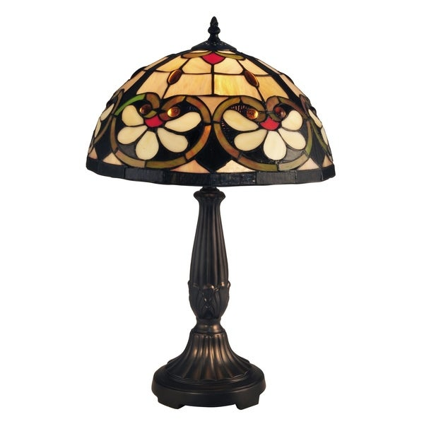 "Dale Tiffany Select 21.5""H McCartney Table Lamp"