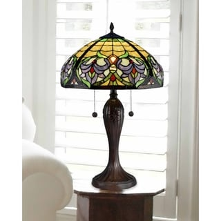 """Dale Tiffany Select 26""""H Enid Baroque Table Lamp"""
