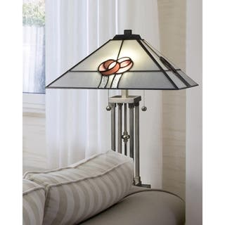 """Dale Tiffany Select 24.5""""H Mack Rose Table Lamp
