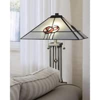 "Dale Tiffany Select 24.5""H Mack Rose Table Lamp"