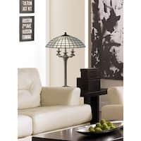 "Springdale 30.5""H White Dome Table Lamp"