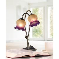 "Springdale 16""H Princess Tulip Accent Lamp"