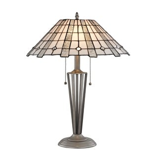 """Dale Tiffany Select 23""""H Zeus Table Lamp"""