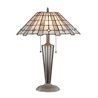 "Springdale 23""H Zeus Tiffany Table Lamp"
