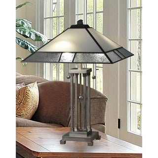 """Springdale 24.5""""H Bazely Tiffany Table Lamp"""