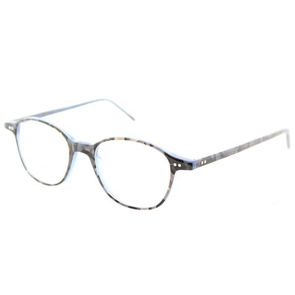 Lafont Round Eyeglass Frames : Lafont Round LF Villon 3070 Womens Blue Frame Eyeglasses ...