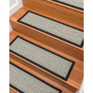 "Gardner Sisal Carpet Stair Treads (9"" x 29"") - Set of 13"