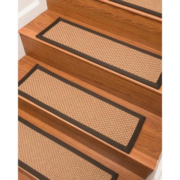 "Brighton Sisal Carpet Stair Treads (9"" x 29"") - Set of 13"