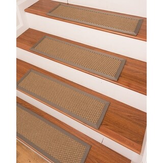"Granville Sisal Carpet Stair Treads (9"" x 29"") - Set of 13"