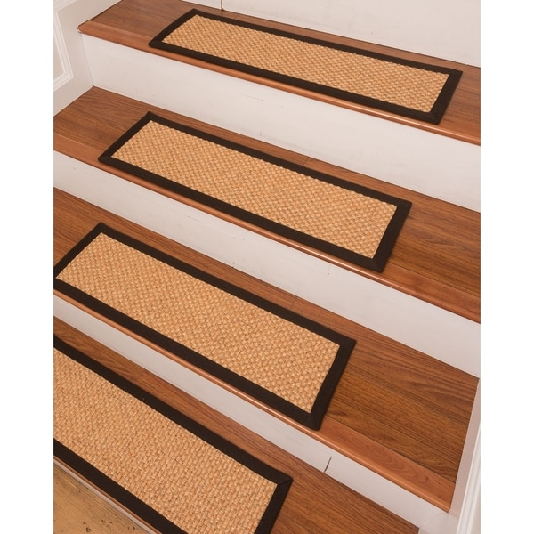 Shop Ernest Sisal Carpet Stair Treads Set Of 13 13PC 9
