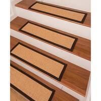 "Ernest Sisal Carpet Stair Treads (9"" x 29"") - Set of 13"