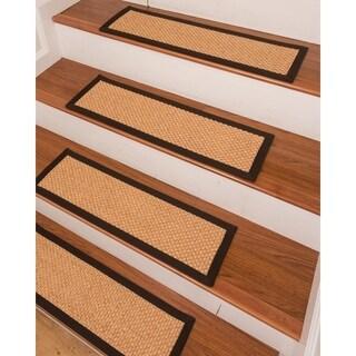 "Ernest Sisal Carpet Stair Treads - Set of 13 - 9""x 29"""