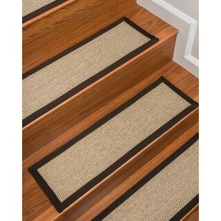 "Edmond Sisal Carpet Stair Treads (9"" x 29"") - Set of 13"