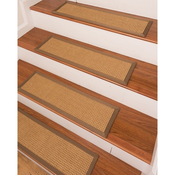 "Russell Sisal Carpet Stair Treads (9"" x 29"") - Set of 13"
