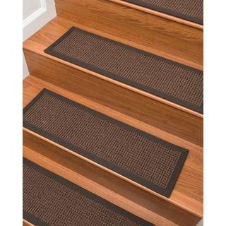 """Wesley Sisal Carpet Stair Treads (9"""" x 29"""") - Set of 13"""
