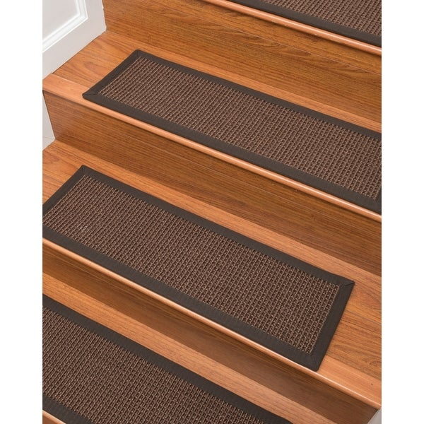 "Wesley Sisal Carpet Stair Treads (9"" x 29"") - Set of 13"